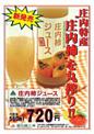 庄内柿ジュース